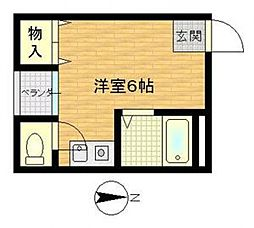 ビルシャナ上田[303号室号室]の間取り