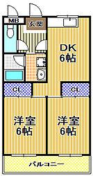 メゾンアーサー[2階]の間取り