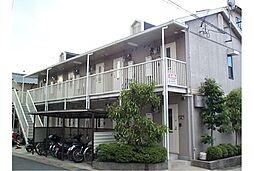 京都府京都市右京区常盤窪町の賃貸アパートの外観