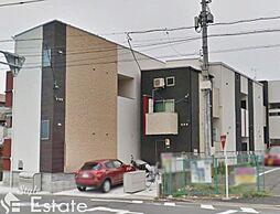 愛知県名古屋市東区矢田町の賃貸アパートの外観