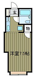 サンホワイト三番館[2階]の間取り