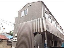 東京都大田区仲六郷3丁目の賃貸アパートの外観