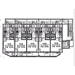 エルスタンザ大口[4階]の間取り