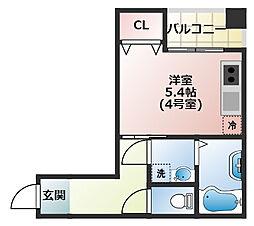 (仮称)船橋市宮本3丁目共同住宅[404号室]の間取り