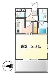 グラン・アベニュー西大須[4階]の間取り