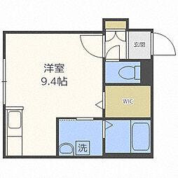 YUGO'S中島[3階]の間取り