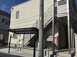 神奈川県横浜市神奈川区東神奈川2丁目の賃貸アパートの外観