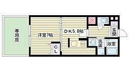 Casa Despacio[107号室]の間取り