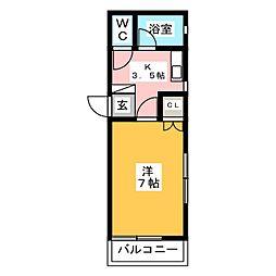 ウィンディホーム[1階]の間取り