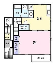 デスカンサル[2階]の間取り