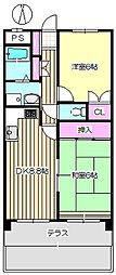 グレートフューチャーパートII 105[1階]の間取り