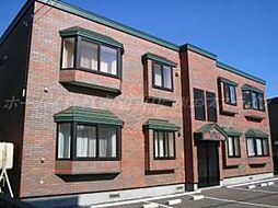 北海道札幌市東区北四十九条東14丁目の賃貸アパートの外観