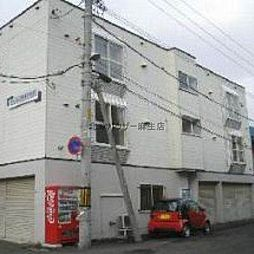 北海道札幌市北区北三十五条西2丁目の賃貸アパートの外観