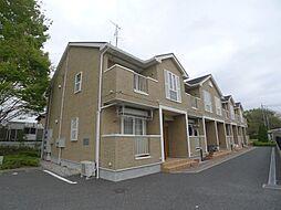 埼玉県越谷市大字増林の賃貸アパートの外観