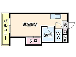 ソミュール井尻[2階]の間取り