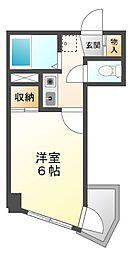 ユニテック甲子園[1階]の間取り