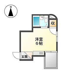 ALEGRIAPLACE徳川町[3階]の間取り