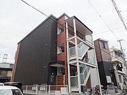 大阪府堺市堺区鉄砲町の賃貸アパートの外観