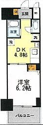 PHOENIX日本橋高津[4階]の間取り