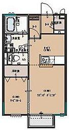 ルミナス A[102号室号室]の間取り
