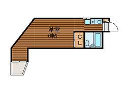 セブアイランズマンション[3階]の間取り
