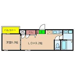 Fmaison verdeII[3階]の間取り
