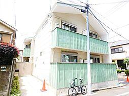 東京都世田谷区経堂4丁目の賃貸アパートの外観