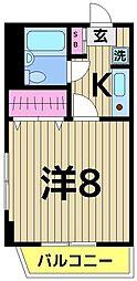 東京都足立区伊興本町1丁目の賃貸マンションの間取り