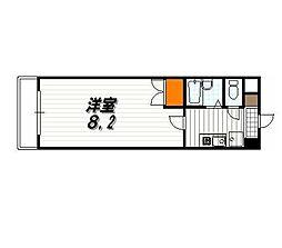 パラシオン京都[8階]の間取り