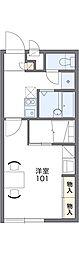 レオパレスヤチヨ[1階]の間取り