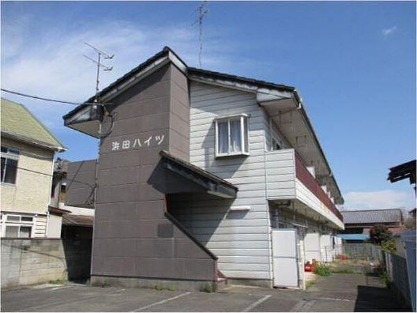 浜田ハイツ[102号室]の外観