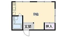 カッシーナ甲子園[301号室]の間取り