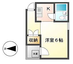 メゾン・フルーリ[3階]の間取り