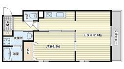 la maison felicia ラ・メゾン・フェリシア[406A号室]の間取り