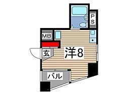スカイコート西川口第6[201号室]の間取り