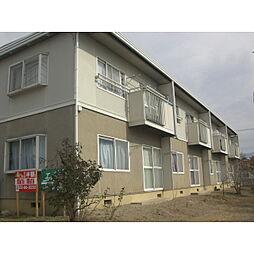 長野県佐久市長土呂の賃貸アパートの外観