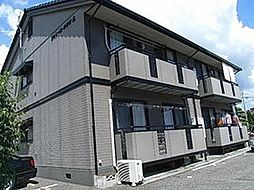 広島県広島市安佐南区大町東3丁目の賃貸アパートの外観