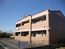 愛知県江南市尾崎町上田の賃貸アパートの外観