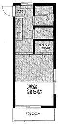 サンハイムフタバ[2階]の間取り