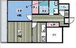 ヌーベルハイムマルシオ[2階]の間取り