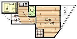 シティーライフ千代崎[7階]の間取り