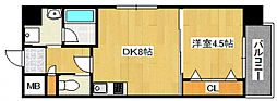 DiasII 鶴見6丁目新築[801号室号室]の間取り