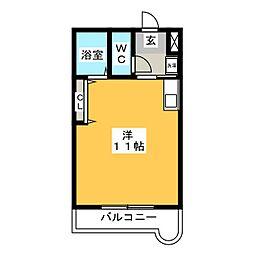 アークトレード太宰府[4階]の間取り