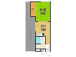 ロイヤルメゾン仁川II[3階]の間取り