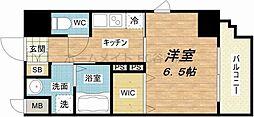 アール大阪グランデ[3階]の間取り