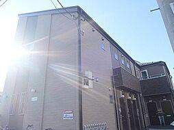 千葉県流山市向小金2の賃貸アパートの外観