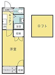 セラビ館[1階]の間取り
