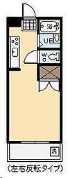 オクトワール宮崎西1番館[109号室]の間取り