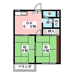 第2フォーブル[2階]の間取り