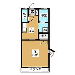 鎮守荘[2階]の間取り